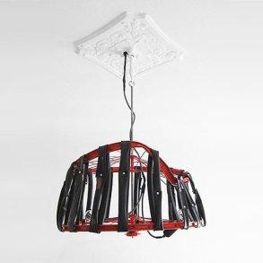 Berlin bike Lamp โคมไฟ D.I.Y จากขยะล้อจักรยาน 16 - DIY