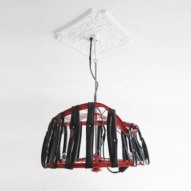 Berlin bike Lamp โคมไฟ D.I.Y จากขยะล้อจักรยาน 25 - DIY