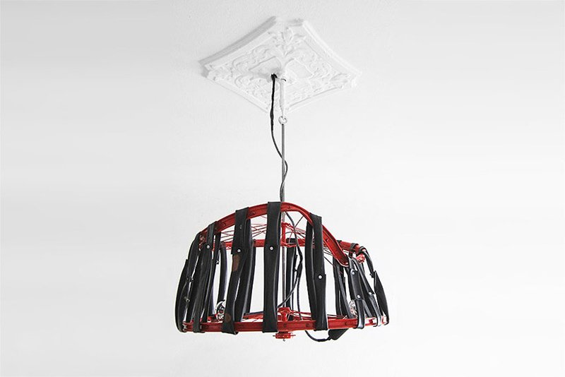 img 1 1431431603 2ffbd57daab12c31cb1822ec839e696f Berlin bike Lamp โคมไฟ D.I.Y จากขยะล้อจักรยาน