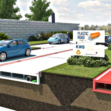 Recycled Plastic Road โครงการสร้างถนนด้วยพลาสติกรีไซเคิล ที่เนเธอร์แลนด์ 18 - Netherlands