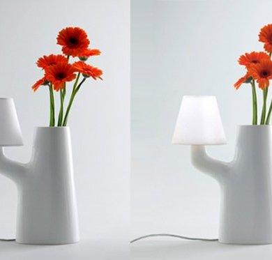 แจกันโคมไฟ...ใช้การสัมผัสดอกไม้ เป็นสวิตช์เปิด-ปิด 14 - Lamp