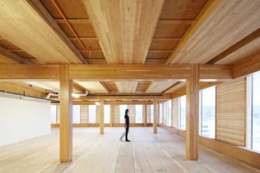 อาคารที่ผลิตจากไม้ล้วนๆ สูงที่สุดในโลก The Wood Innovation Design Centre 23 - Art & Design