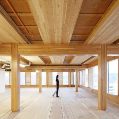 อาคารที่ผลิตจากไม้ล้วนๆ สูงที่สุดในโลก The Wood Innovation Design Centre 14 - Architecture
