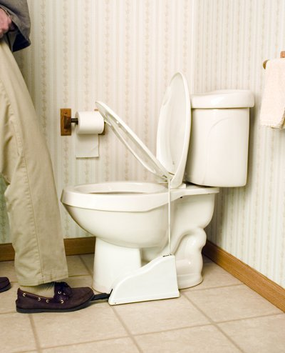 Toilet-Seat-Pedal-lifter-gadgets-for-lazy-people