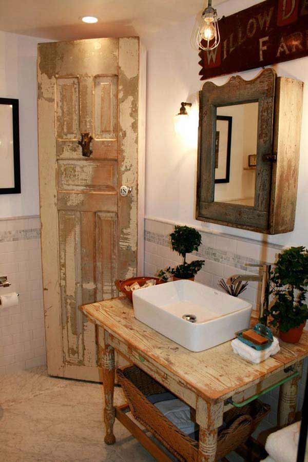 rustic bathroom ideas 10 30 ห้องน้ำที่ไม่ซ้ำบ้านไหนๆ แขกไปใครมาจำได้แน่นอน