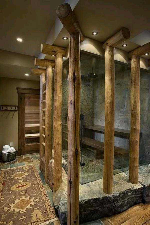 rustic bathroom ideas 7 30 ห้องน้ำที่ไม่ซ้ำบ้านไหนๆ แขกไปใครมาจำได้แน่นอน