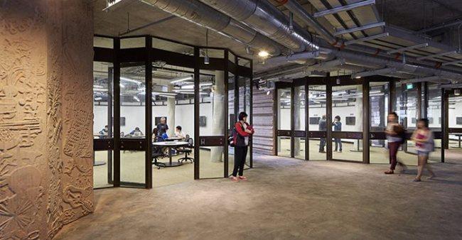 ภาพ: สเปซภายในห้องเรียน ขอบคุณภาพ: © Hufton and Crow (www.huftonandcrow.com)