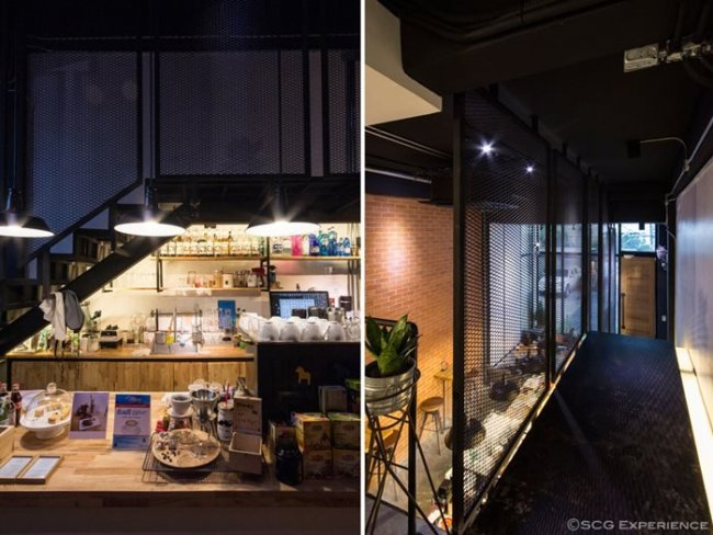 scg renovate coffee cafe7 650x488 รีโนเวทตึกแถวเก่า ให้เป็นร้านกาแฟ CASE STUDY COFFEE & EATERY