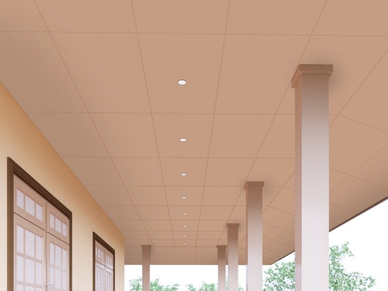 เติมเสน่ห์ให้บ้านผ่านสีสันหรือลวดลายฝ้า เพื่อสร้างลูกเล่นให้ดูไม่จำเจ 21 - ceiling