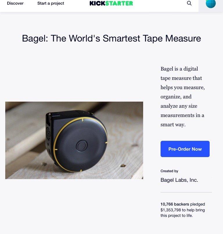 Bagel สายวัดอัจฉริยะ ฉลาดสุดๆเข้ากับชีวิตยุคดิจิตอล 17 - construction