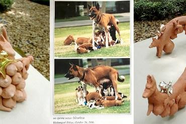 """5 เครื่องประดับและงานศิลป์เล็กๆ ที่ได้รับแรงบัลดาลใจจาก """"คุณทองแดง"""" 14 - สุนัข"""