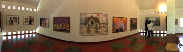 หลงรัก...หอศิลป์ริมน่าน หอศิลป์เพื่อคนท้องถิ่นได้เรียนรู้งานศิลปะจากศิลปินระดับชาติ 12 - จังหวัดน่าน