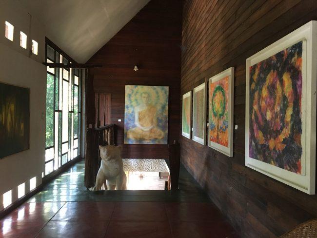 หลงรัก...หอศิลป์ริมน่าน หอศิลป์เพื่อคนท้องถิ่นได้เรียนรู้งานศิลปะจากศิลปินระดับชาติ 17 - จังหวัดน่าน
