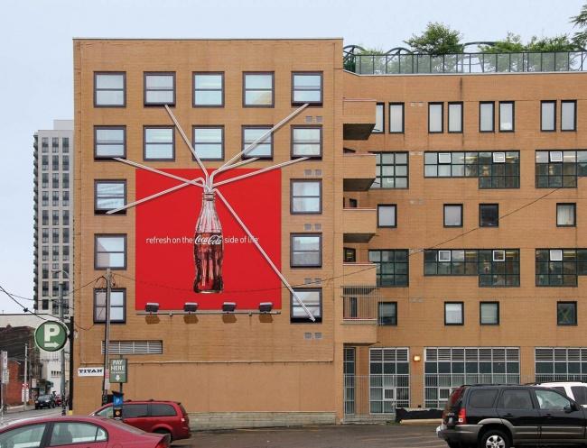 19 ป้ายโฆษณา (Billboard) ไอเดียสุดครีเอทที่ออกแบบอย่างสร้างสรรค์จนต้องจำแบรนด์ได้ 17 - advertising