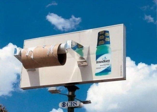 1045905 24 650 18f1dd6de2 1482220397 650x463 19 ป้ายโฆษณา (Billboard) สุดครีเอทที่ออกแบบอย่างสร้างสรรค์จนต้องจำแบรนด์ได้