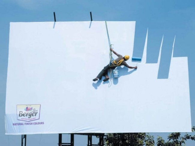 1046155 6 650 8182ce38a3 1482220397 650x487 19 ป้ายโฆษณา (Billboard) สุดครีเอทที่ออกแบบอย่างสร้างสรรค์จนต้องจำแบรนด์ได้