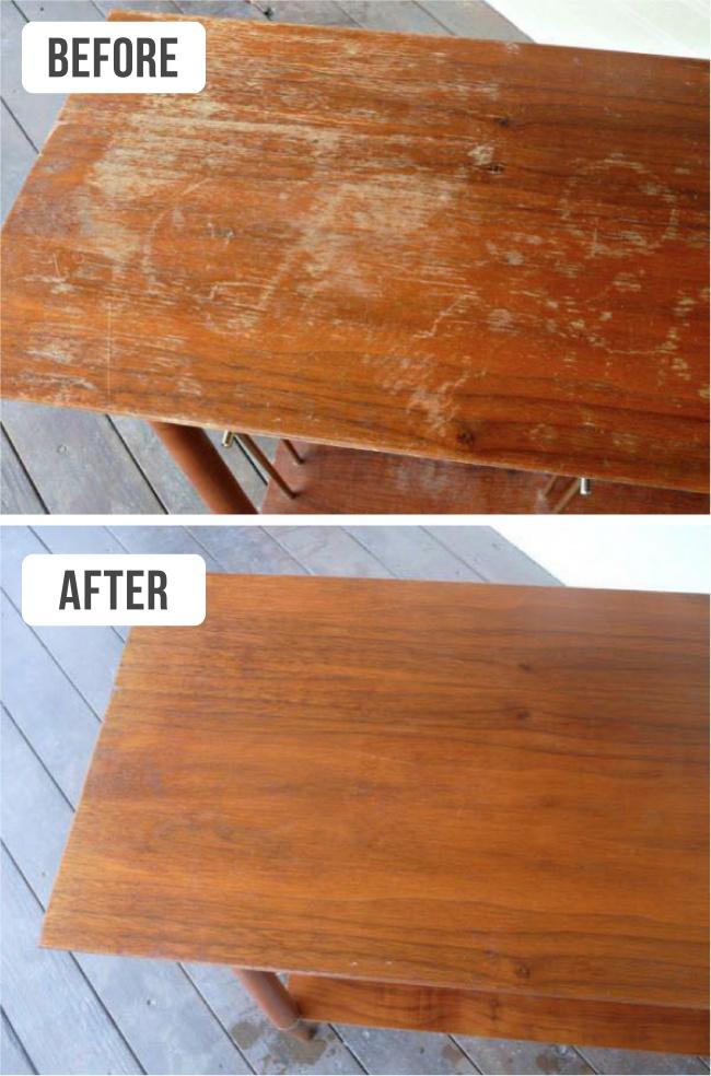 9 สูตรวิเศษทำความสะอาด บ้าน และ เฟอร์นิเจอร์ ให้เหมือนใหม่ (แต่ไม่ต้องซื้อใหม่) 13 -
