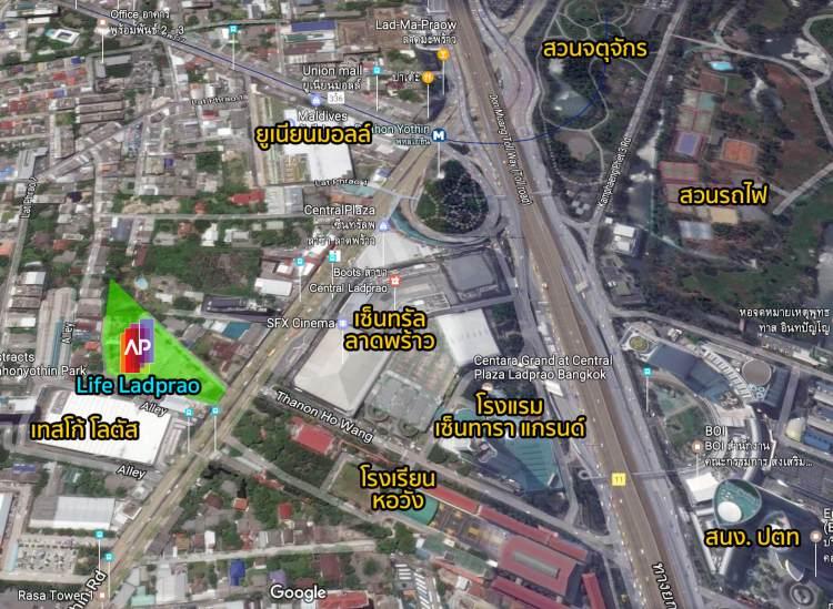 map lifeladprao 750x549 Life Ladprao – คอนโดวัยสร้างธุรกิจ ดีไซน์ฟังก์ชั่นเหมาะแก่ผู้อยู่อาศัยที่ต้องการให้ธุรกิจเติบโตอย่างรวดเร็ว