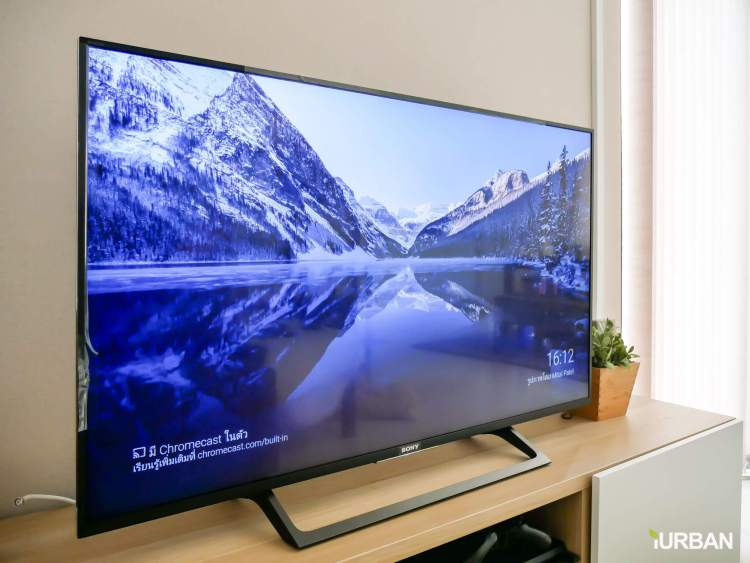 iurban sonytv 01 750x563 รีวิว SONY Android TV รุ่น X8000E งบ 26,990 แต่สเปค 4K HDR เชื่อมโลก Social กับทีวีอย่างสมบูรณ์แบบ