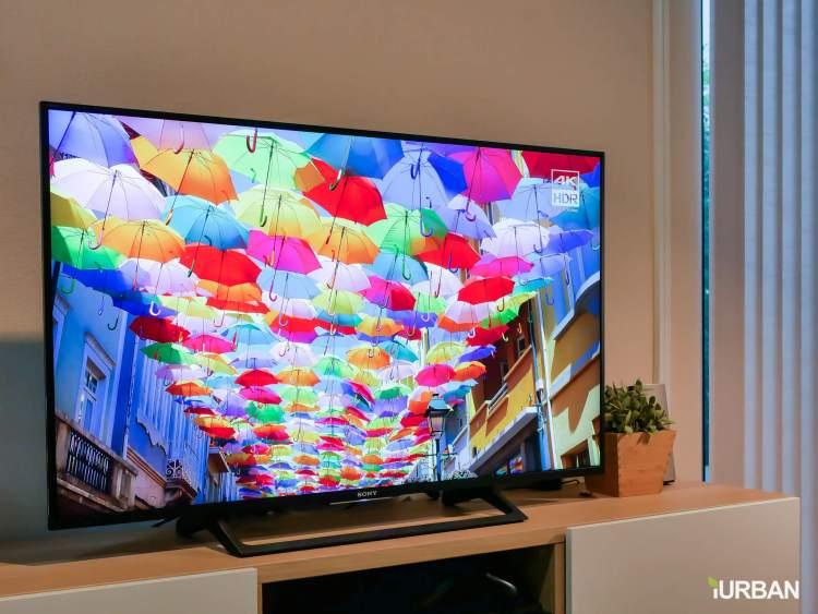 iurban sonytv 62 750x563 รีวิว SONY Android TV รุ่น X8000E งบ 26,990 แต่สเปค 4K HDR เชื่อมโลก Social กับทีวีอย่างสมบูรณ์แบบ