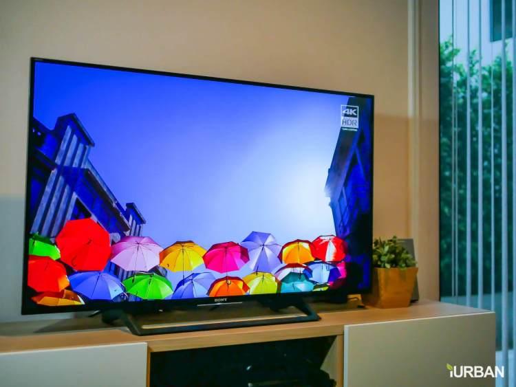 iurban sonytv 66 750x563 รีวิว SONY Android TV รุ่น X8000E งบ 26,990 แต่สเปค 4K HDR เชื่อมโลก Social กับทีวีอย่างสมบูรณ์แบบ