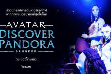 รีวิว AVATAR : Discover Pandora Bangkok นิทรรศการ Interactive จากหนังที่ขายดีที่สุดในโลก