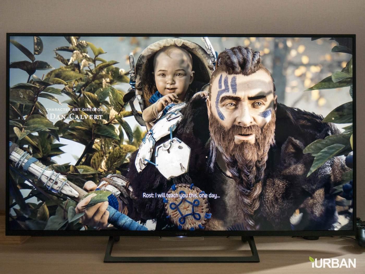 รีวิวภาพจริง SONY 4K HDR TV รุ่น X7000E เจน 2017 ตัวถูกสุดนี้ มีดีอะไรบ้าง? 13 - 4K