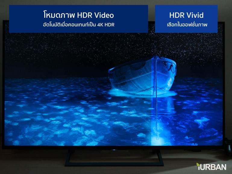 รีวิวภาพจริง SONY 4K HDR TV รุ่น X7000E เจน 2017 ตัวถูกสุดนี้ มีดีอะไรบ้าง? 32 - 4K