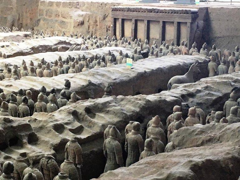 สุสานกองทัพทหารดินเผา สุสานที่ใหญ่ที่สุดในจีน สิ่งมหัศจรรย์ของโลกลำดับที่ 8 24 - จักรพรรดิจิ๋นซี