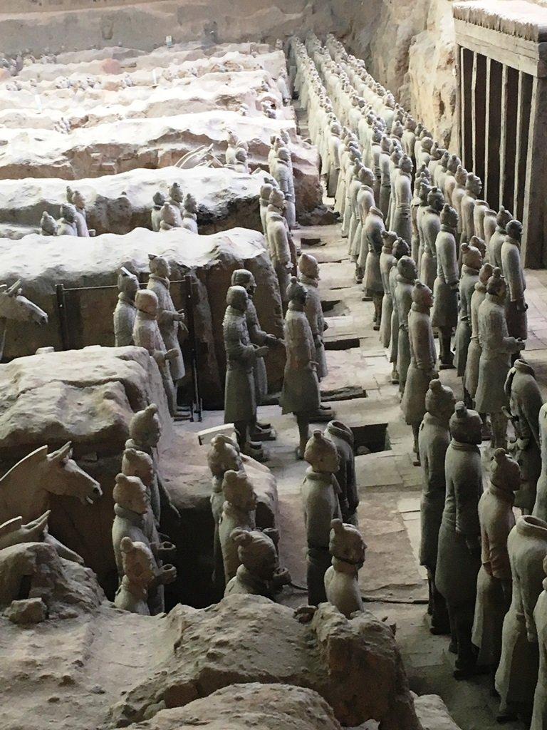 สุสานกองทัพทหารดินเผา สุสานที่ใหญ่ที่สุดในจีน สิ่งมหัศจรรย์ของโลกลำดับที่ 8 25 - จักรพรรดิจิ๋นซี