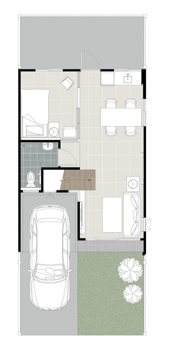 2560-3-16 Pleno Watcharaphol - 18wa - Floor Plan-1F-(M)-2