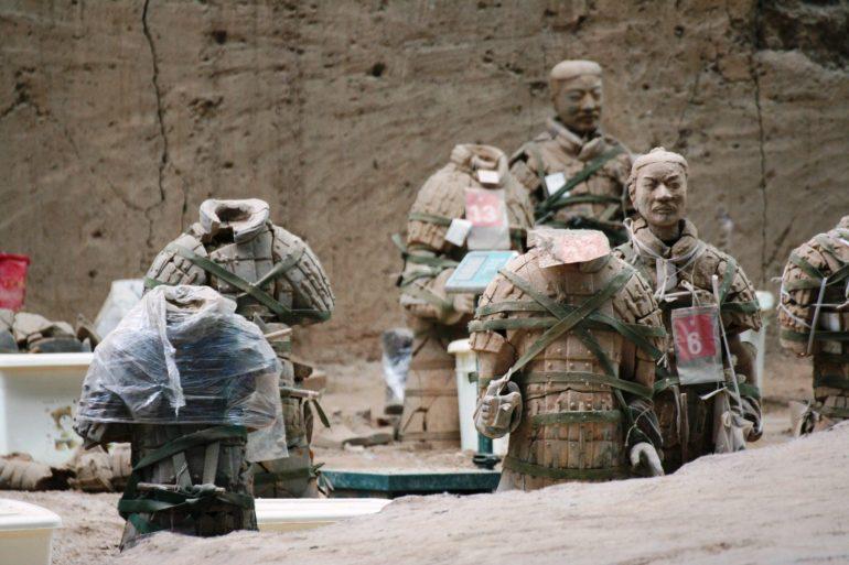 สุสานกองทัพทหารดินเผา สุสานที่ใหญ่ที่สุดในจีน สิ่งมหัศจรรย์ของโลกลำดับที่ 8 30 - จักรพรรดิจิ๋นซี