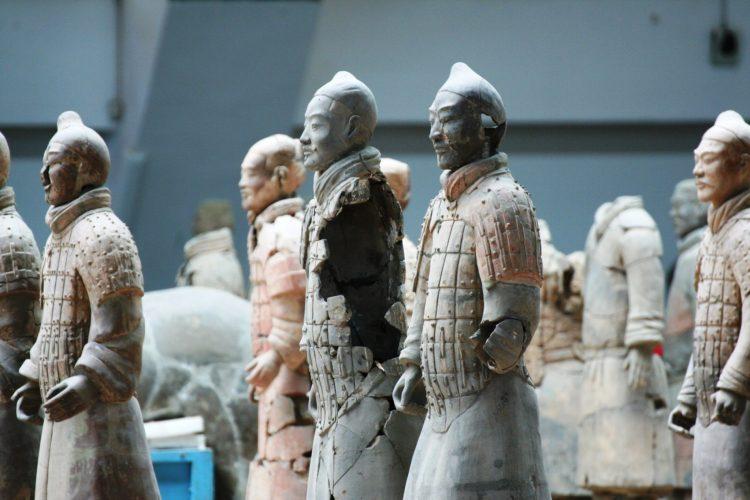 IMG 4496 750x500 สุสานกองทัพทหารดินเผา สุสานที่ใหญ่ที่สุดในจีน สิ่งมหัศจรรย์ของโลกลำดับที่ 8