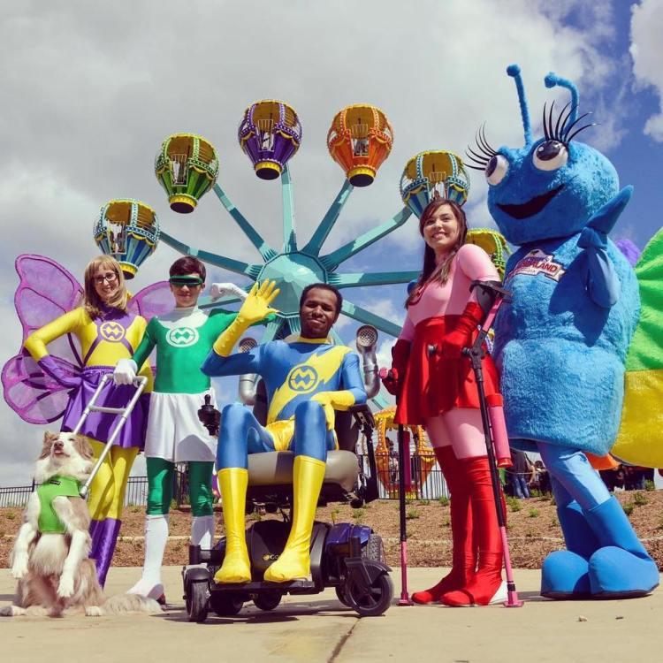 จากความรัก Morgan's Wonderland สวนสนุกสำหรับผู้มีความต้องการพิเศษแห่งแรกของโลก! 24 - funpark