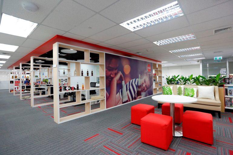 ออฟฟิศโคคา-โคลา ออกแบบเพิ่มความสุขสดชื่น ส่งเสริมแรงบันดาลใจพนักงาน 15 - Coca-Cola