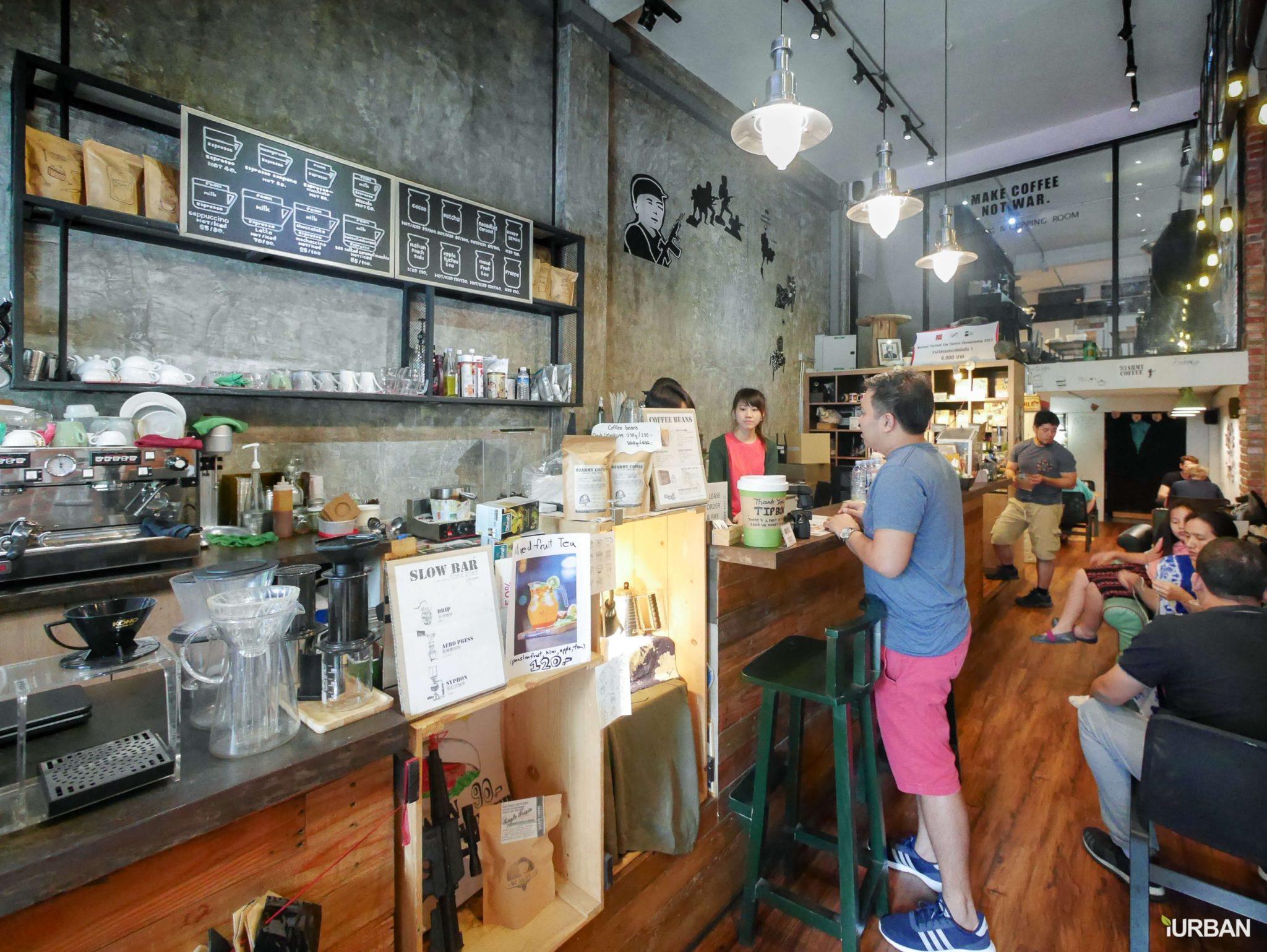 10 ร้านกาแฟ ทองหล่อ - เอกมัย เครื่องดื่มเด็ด บรรยากาศดี 76 - Ananda Development (อนันดา ดีเวลลอปเม้นท์)