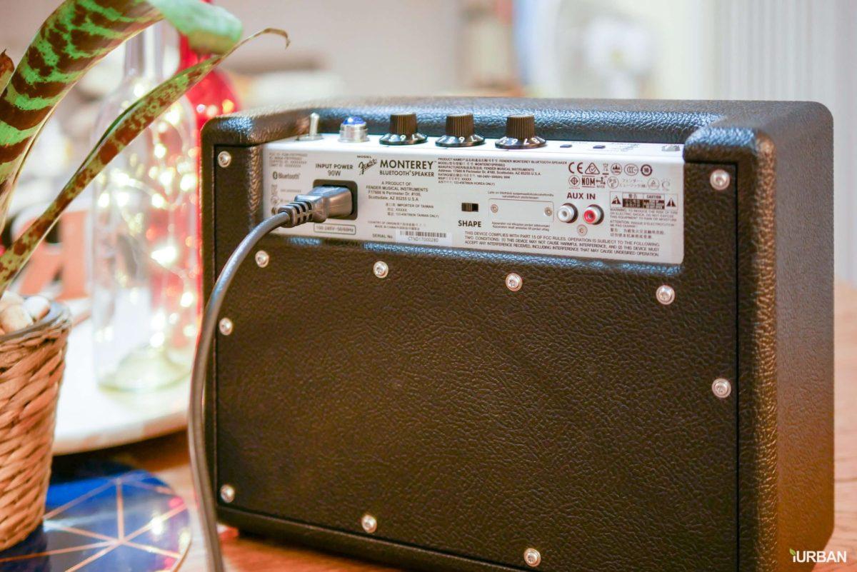 รีวิวลำโพง Fender คู่แรกจากตำนานแห่งวงการดนตรี Monterey™ & Newport™ 34 - fender