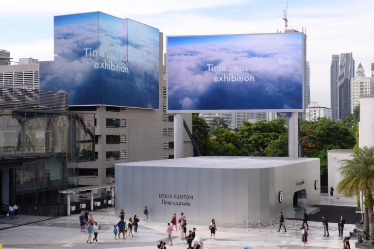 หลุยส์ วิตตอง จัดแสดงนิทรรศการ TIME CAPSULE ยิ่งใหญ่ที่สุดแห่งปี 14 -