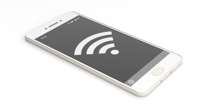 wifi symbol on a smartphone screen 3d PAQSC3U 750x375 7 วิธีง่ายๆ เพิ่มความรู้ออนไลน์ช่วยประหยัดค่ารายจ่ายในชีวิต