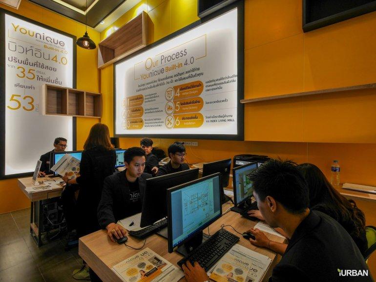 Younique เทคโนโลยีบิวท์อิน 4.0 ครั้งแรกในไทย มีเป็นล้านดีไซน์ รู้ราคาใน 1 นาที โดย Index Livingmall 15 - Built-in
