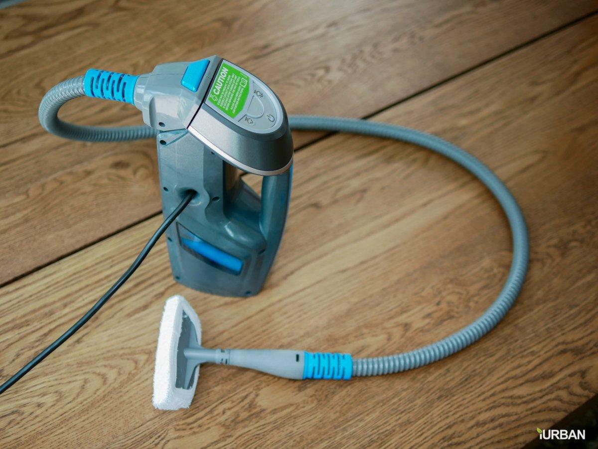 บ้านสะอาดโดยไม่ใช้สารเคมีด้วย Bissell PowerFresh Lift-Off ยับยั้งเชื้อโรคเพียงใช้น้ำเปล่า 35 - Bissell