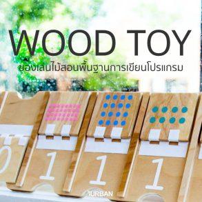 Wood Toy ของเล่นไม้สอนพื้นฐานการเขียนโปรแกรม พัฒนาลูกน้อยสู่ยุคดิจิตอล 24 - Kid