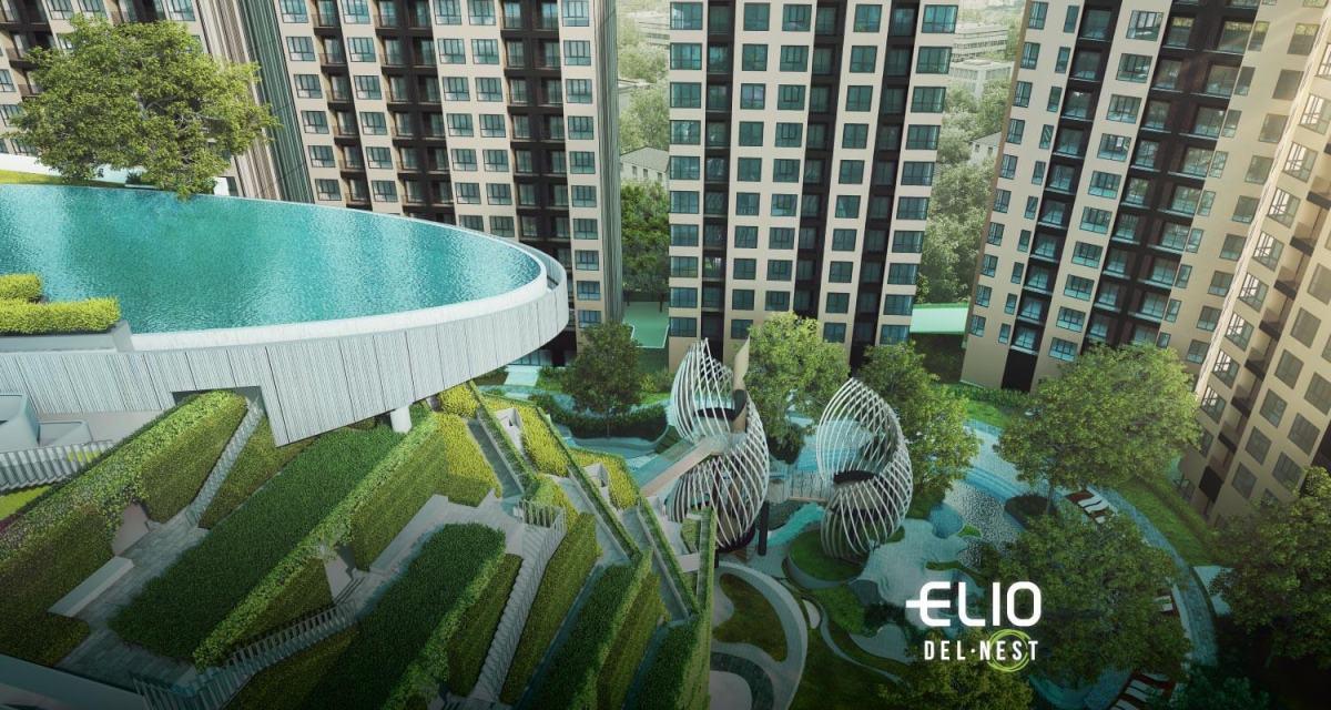 ELIO DEL NEST คอนโดส่วนกลางใหญ่ 4 ไร่ ใกล้ BTS อุดมสุข เริ่ม 2.29 ล้าน 20 - Ananda Development (อนันดา ดีเวลลอปเม้นท์)
