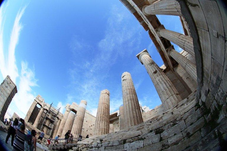"""อารยธรรมยุโรปทั้งหมด เริ่มต้นที่นี่.. """"อะโครโปลิสแห่งเอเธนส์"""" (Acropolis of Athens) 29 - วิหารพาร์เธนอน"""