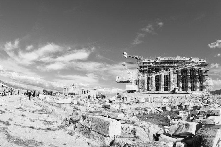 """อารยธรรมยุโรปทั้งหมด เริ่มต้นที่นี่.. """"อะโครโปลิสแห่งเอเธนส์"""" (Acropolis of Athens) 31 - วิหารพาร์เธนอน"""