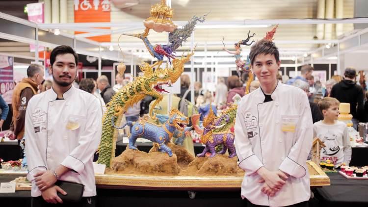S  30425249 750x422 น่าชม Lin Thailand Sweet Creation 2017 เค้กแชมป์โลกฝีมือคนไทย และงานครีเอทีฟของหวานใหญ่ที่สุดในอาเซียน