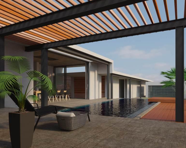 """""""เอสซีจี"""" แนะนำไอเดียเติมเสน่ห์ให้บ้านสวยใกล้ชิดธรรมชาติ  ตกแต่ง 3 พื้นที่ของบ้าน ด้วยการใช้ไม้สังเคราะห์ไฟเบอร์ซีเมนต์ 13 - SCG (เอสซีจี)"""