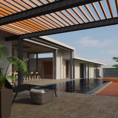 """""""เอสซีจี"""" แนะนำไอเดียเติมเสน่ห์ให้บ้านสวยใกล้ชิดธรรมชาติ ตกแต่ง 3 พื้นที่ของบ้าน ด้วยการใช้ไม้สังเคราะห์ไฟเบอร์ซีเมนต์ 32 - SCG (เอสซีจี)"""