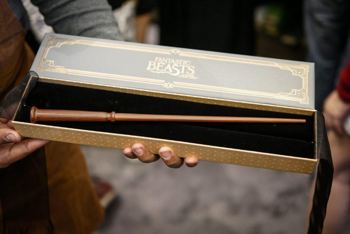 harrypotter wand fantasticbeasts2 11 ไม้กายสิทธิ์ แฮร์รี่ พอตเตอร์ ราคา ที่งาน สยามพารากอน #HarryPotterThailand  Harry Potter Paragon