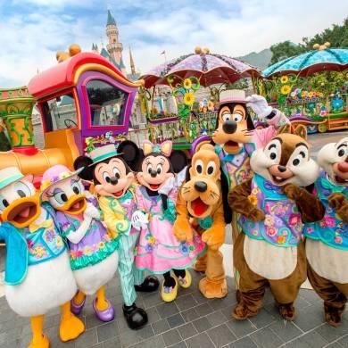 ฮ่องกงดิสนีย์แลนด์ ชวนเที่ยวเทศกาลเฉลิมฉลองฤดูใบไม้ผลิ Disney Friends Springtime Carnival 14 - Disney
